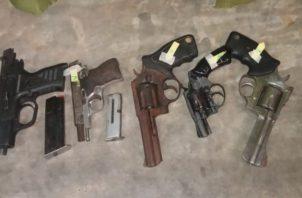 En la última requisa hecha en la cárcel La Joyita se decomisaron unas ocho armas. Foto Ilustrativa