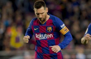Lionel Messi puso orden. AP