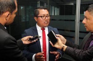 El diputado Arquesio Arias cumple una medida cautelar de casa por cárcel. Foto: Panamá América.