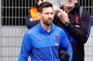 Leo Messi no tiene ningún tipo de privilegios. EFE
