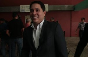 Mario Pérez, exdirector de Pandeportes. Víctor Arosemena