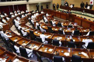 La ciudadanía manifestó su rechazo a varias de las actuaciones de los diputados durante los primeros cinco meses del nuevo gobierno. Foto: Panamá América.