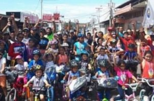 Se espera que lleguen unos 250 ciclistas entre niños y jóvenes. Foto Cortesía