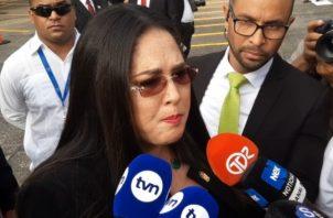 La diputada Zulay Rodríguez acusó a Movin de estar detrás de la información. Foto Epasa