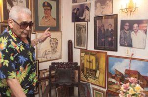 """Luis Gaspar """"Toti"""" Suárez fue participante activo de los enfrentamientos del 9 de Enero de 1964. Víctor Arosemena."""