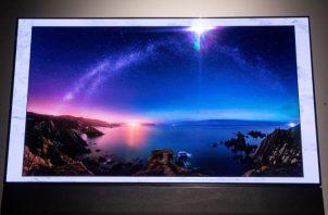"Televisor ""Sero"" de Samsung."