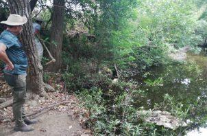 El río Estivaná, principal afluente del río La Villa, abastece de agua a las potabilizadoras de Llano de Piedra  y la de Macaracas. Foto/Thays Domínguez