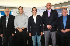 Integrantes del comité organizador así como representantes de la PGA brindaron detalles del torneo ayer en conferencia de prensa. Anayansi Gamez