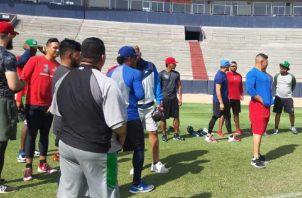 El equipo panameño trata de aprovechar al máximo los días. Cortesía