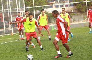 Los jugadores del seleccionado panameño se han mantenido realizando microciclos. Anayansi Gamez