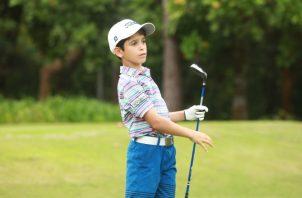 Ernesto Durán competirá en la categoría de los 10 años. Anayansi Gamez