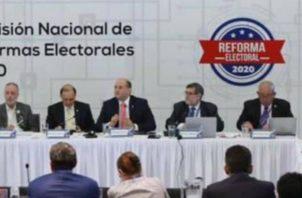 La Comisión de reformas electorales fue instalada a inicios del año. Twitter