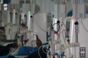 Sala de hemodiálisis, en la que se atienden pacientes renales. Archivo