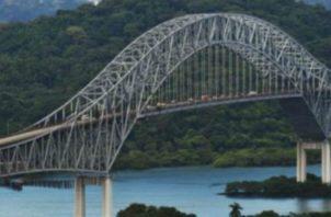 La obra en el Puente de las Américas es realizada por cuatro empresas.