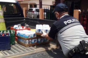 Unidades de la Policía Nacional decomisan cervezas en Atalaya.