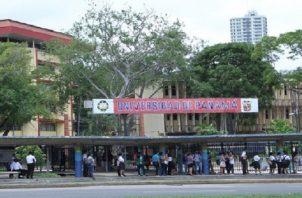 La Universidad de Panamá, que llega a 85 años en 2020, tendrá que comenzar el primer semestre con su Campus Central vacío. Archivo
