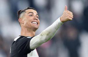 Cristiano Ronaldo de la Juventus Foto:EFE