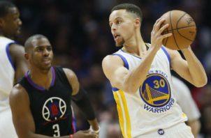 Stephen Curry de los Golden State Warriors. Foto:AP