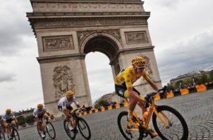 El ciclista británico Chris Froome Foto:AP