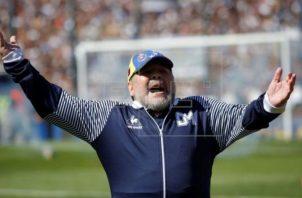 Diego Armando Maradona. Foto:EFE