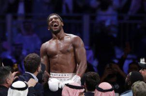 Anthony Joshua es el campeón de peso pesado. Foto: AP