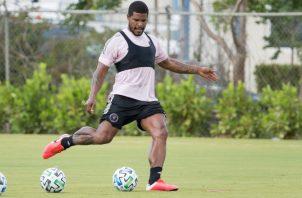 Román Torres jugador del Inter Miami. @Intermiami