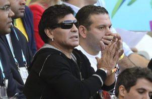 Diego Maradona. Foto:AP