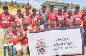Coclé ganó el Nacional Infantil.