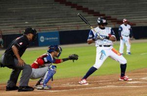 Eduardo Thomas defendiendo los colores de Panamá Metro. Fotos: Anayansi Gamez