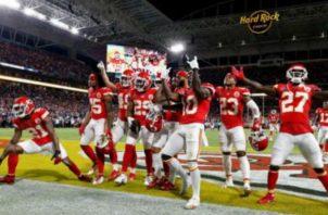 Los Chiefs son los campeones de la NFL. Foto:EFE