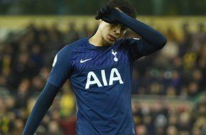 Dele Alli del Tottenham. Foto:AP