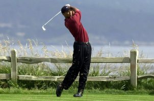 Tiger Woods, ganador de 15 'majors'.  Foto: EFE