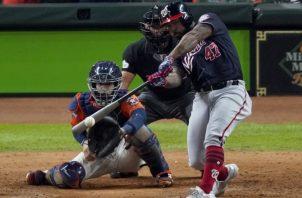 Howie Kendrick de los Nacionales. Foto:AP