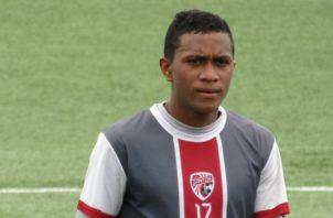 El mediocampista panameño Víctor Griffith juega en Santos. @ADSantos61