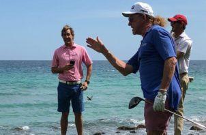 Casa de Campo les permite a los golfistas disfrutar de un paisaje mágico mientras participan en los torneos. Cortesía