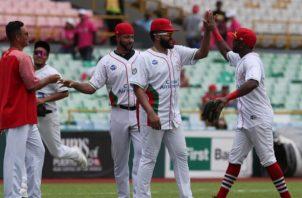 Los Astronautas representaron a Panamá en la Serie del Caribe que se jugó en San Juan, Puerto Rico. Foto:AP