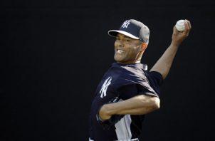 El comienzo de Mariano Rivera en las Grandes Ligas estuvo lleno de obstáculos. AP