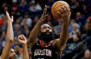 James Harden de los Rockets de Houston. Foto:EFE