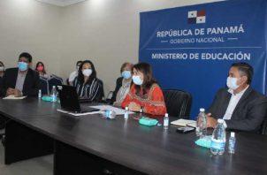 Varias sesiones se han realizado en el Meduca para analizar el futuro del año lectivo 2020.