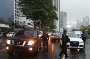 Los manifestantes dijeron estar en desacuerdo con el confinamiento. Víctor Arosemena.