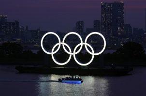 Argollas de los Juegos Olímpicos. Foto:AP