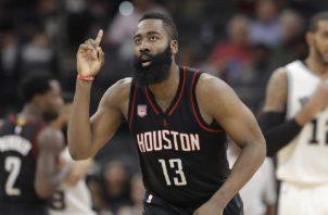 James Harden de los Rockets de Houston.