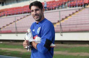 Jaime Penedo exportero de la selección panameña. Foto: Anayansi Gamez