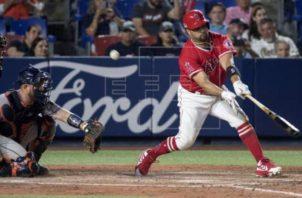Las Grandes Ligas ha sido afectada por la MLB. Foto:EFE