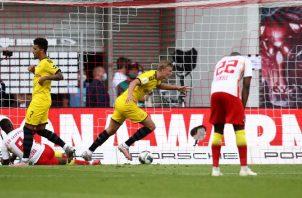 El  Dortmund se quedó con la segunda plaza de la liga alemana. EFE