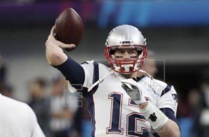 Tom Brady firmó recientemente con Tampa Bay. Foto:EFE