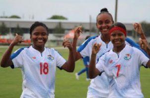 Jugadoras del equipo Sub-20 femenino Foto: Fepafut