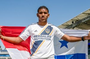 Carlos Harvey. Foto: @LAGalaxy_Es