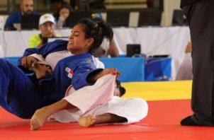 Kristine Jiménez, atleta del judo que ganó medalla de bronce en los pasado Juegos en Barranquilla. Foto: COP