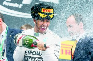 Lewis Hamilton se encamina a romper varios récords esta temporada, mermada en cierta forma por la pandemia del coronavirus. EFE